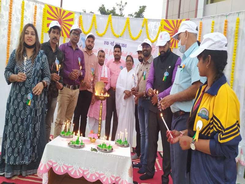 Peace Walk For Global Health Dhamtari Project Launching